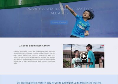 Z-Speed Badminton Center